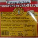 Tourtons du Champsaur - Fromage de Chèvre