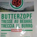 Tresse au beurre précuite