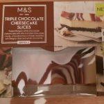 Triple Chocolate Cheesecake Slices