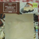 Triple chocolaté cheese cake