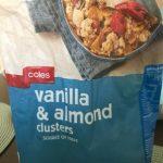 Vanilla & almond clusters