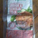 Vegeburger cereales quinoa y lenteja roja