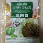 Vegeburger de tofu y espinacas