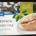 Ventresca de tonyina en oli d'oliva