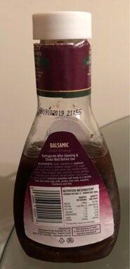 Vinaigrette au vinaigre Balsamic
