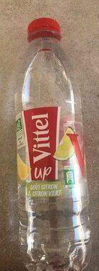Vittel UP goût Citron Citron Vert