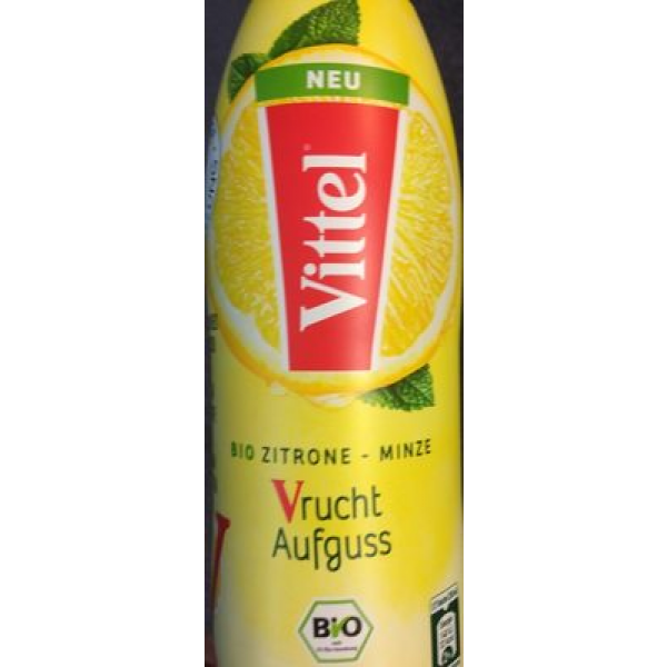 Vittel infusee citron menthe