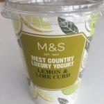 West country luxury yogurt lemon and lemon curd