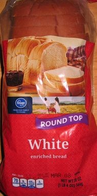 White enriched bread