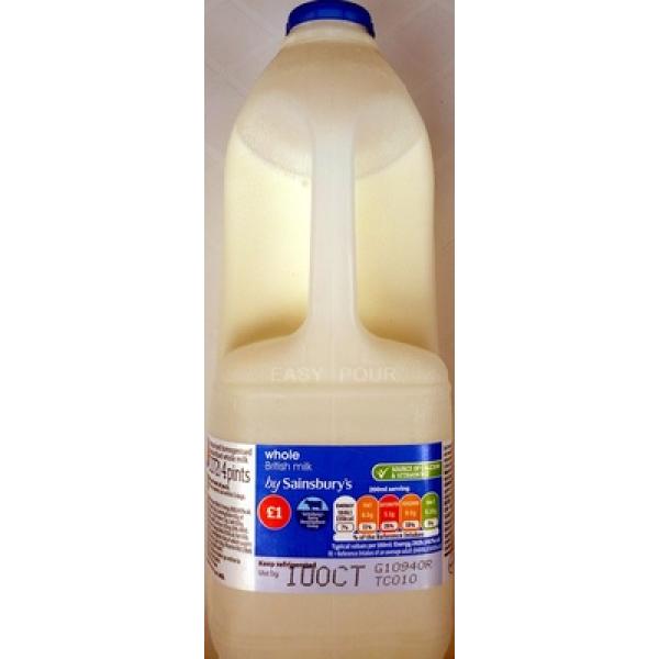 Whole British Milk