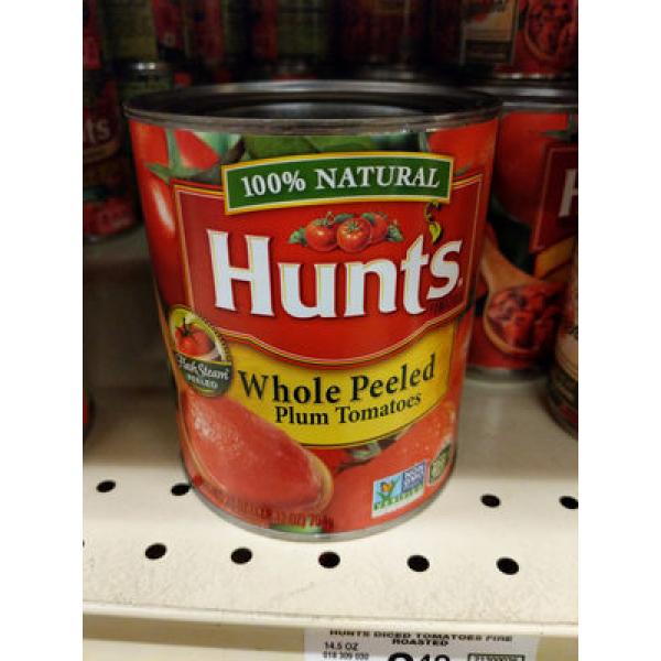 Whole Peeled Plum Tomatoes