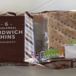 Wholemeal sandwich thins