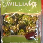 Williams Chocolat au lais suisse fourré à la liqueur de williams