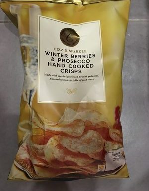 Winter Berries & Prosecco Hand cooked crisps