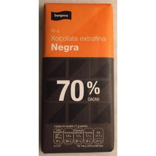 Xocolata extrafina Negra