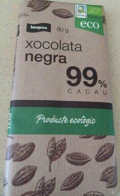 Xocolata negra 99% cacau