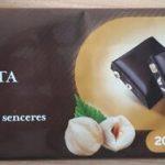 Xocolata negra amb avellanes
