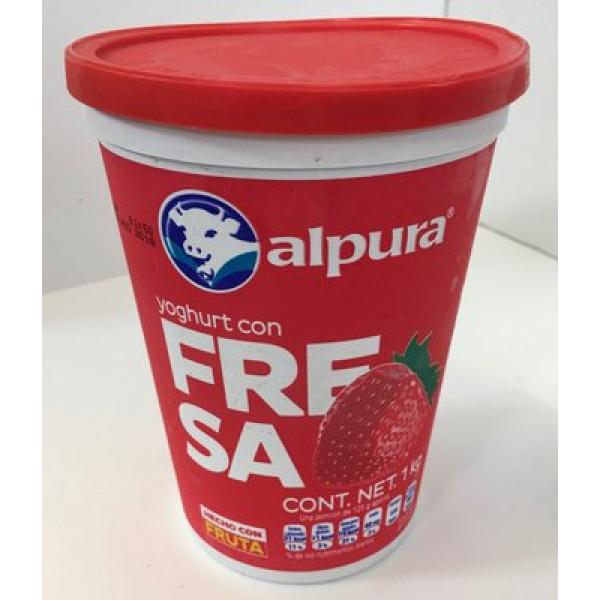 Yoghurt con Fresa