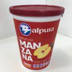 Yoghurt con Manzana