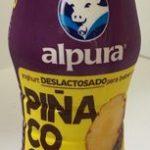 Yoghurt deslactosado Piña coco