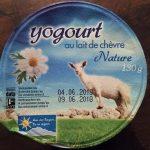 Yogourt Lait de Chèvre Nature