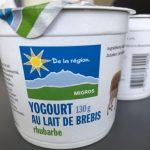 Yogourt au lait de brebis