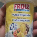 Yogur  frutas tropicales