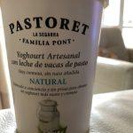 Yogur natural artesanal