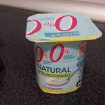 Yogur natural edulcorado 0%