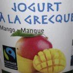 Yogurt à la grecque