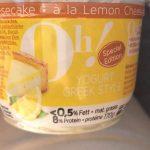 Yogurt greek style