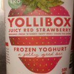 Yollibox Frozen Yoghurt Juicy Red Strawberry
