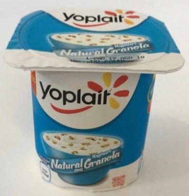Yoplait Yoghurt Natural con Granola