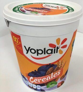 Yoplait Yoghurt con Cereales Moras Azules y Nuez