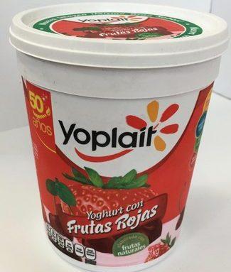 Yoplait Yoghurt con Frutas Rojas