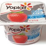 Yoplait doble cero fresa