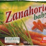 "Zanahorias baby congeladas ""Alipende"""