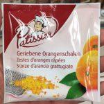 Zestes D'oranges Râpées