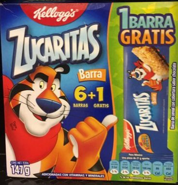 Zucaritas Barra