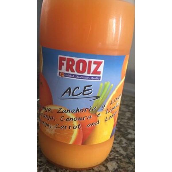 Zumo Ace naranja zanahoria y limon