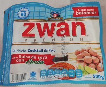 Zwan premium cocktail salsa de soya con limón