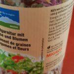 assortiment de graines aux legumes et fleurs
