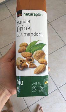 bio: Drink à l'amande