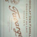 chocolat des familles au lait