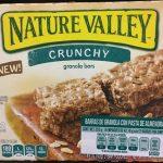 crunchy granola bars con pasta de almendras