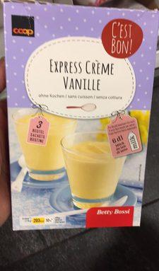 express crème vanille