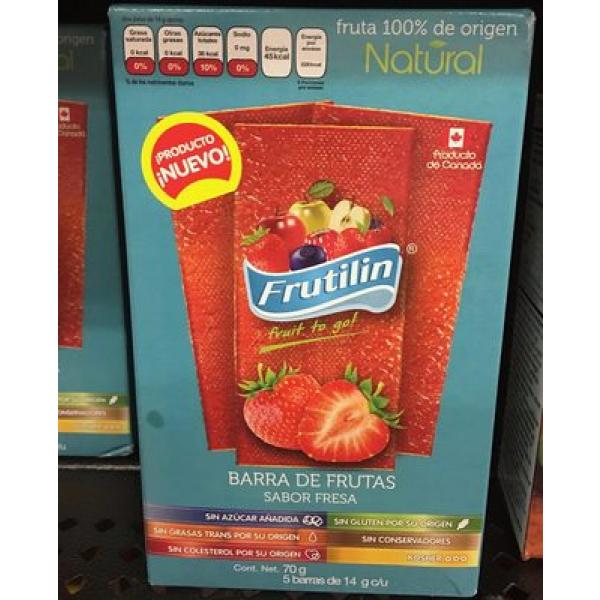 frutilin fruit to go sabor fresa