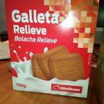 galleta relieve
