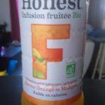 honest infusion fruitée bio