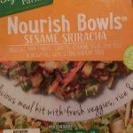nourish bowl sesame sriracha